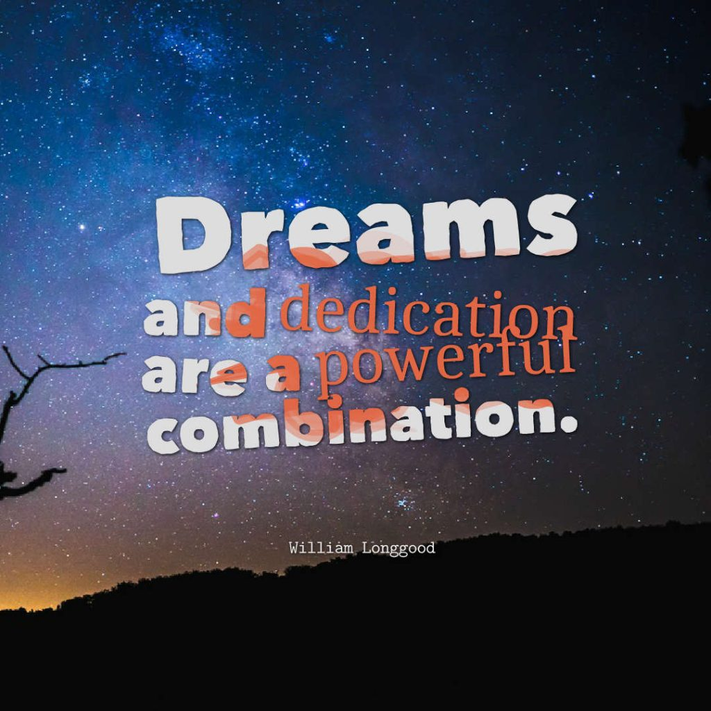 William Longgood quotes about dreams.