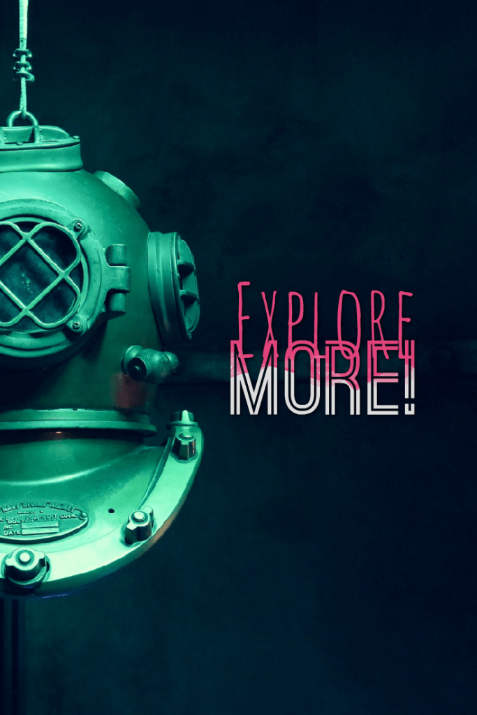 Explore more! A simple quotes to remind you
