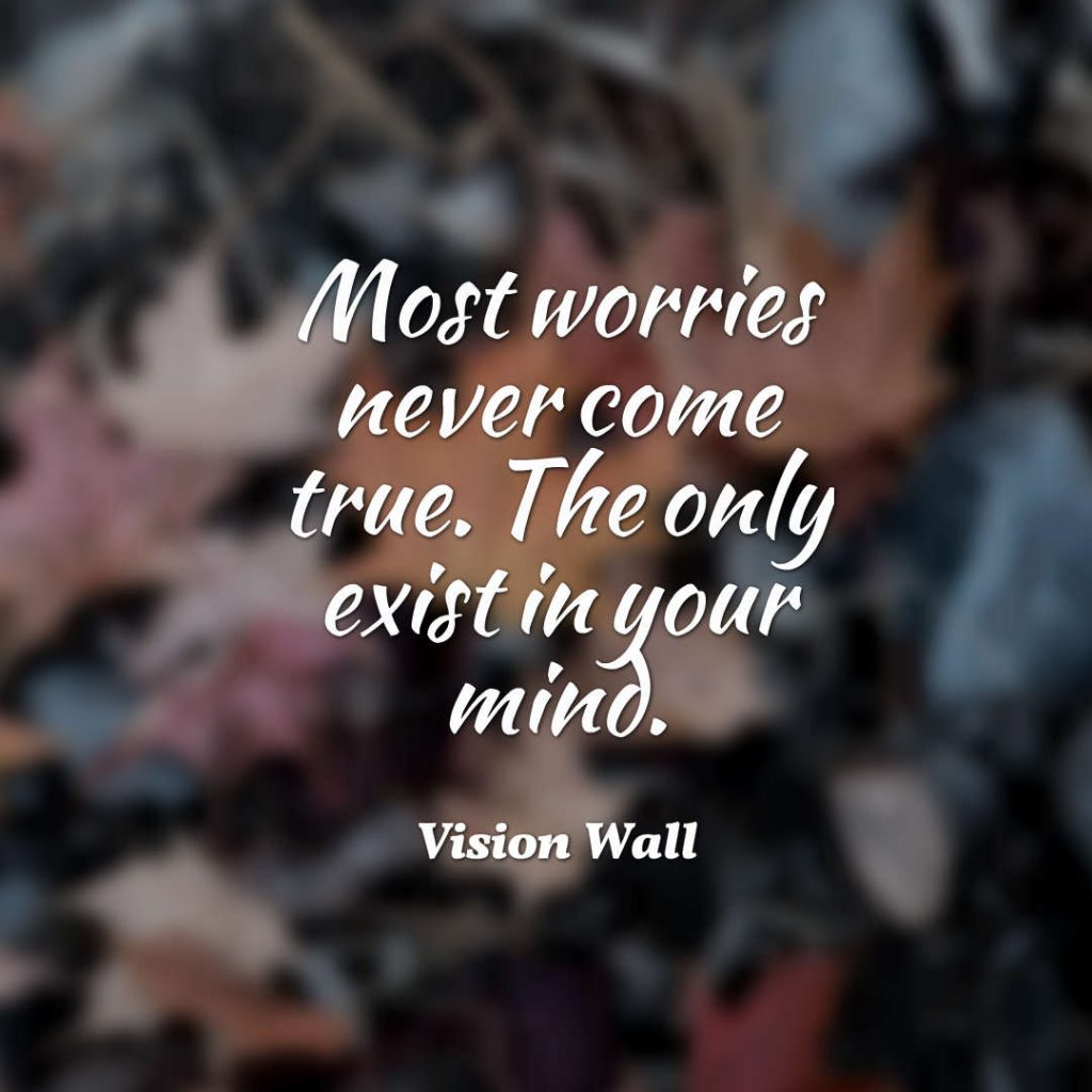 Vision Wall quote about mind.