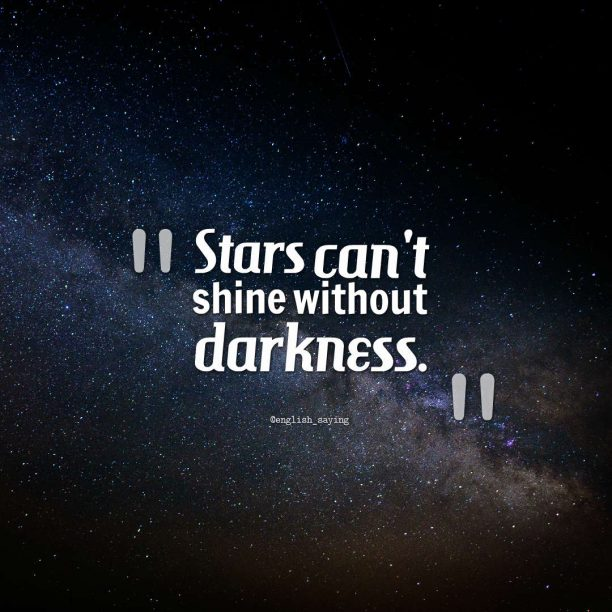 @english_saying quote about darkness.