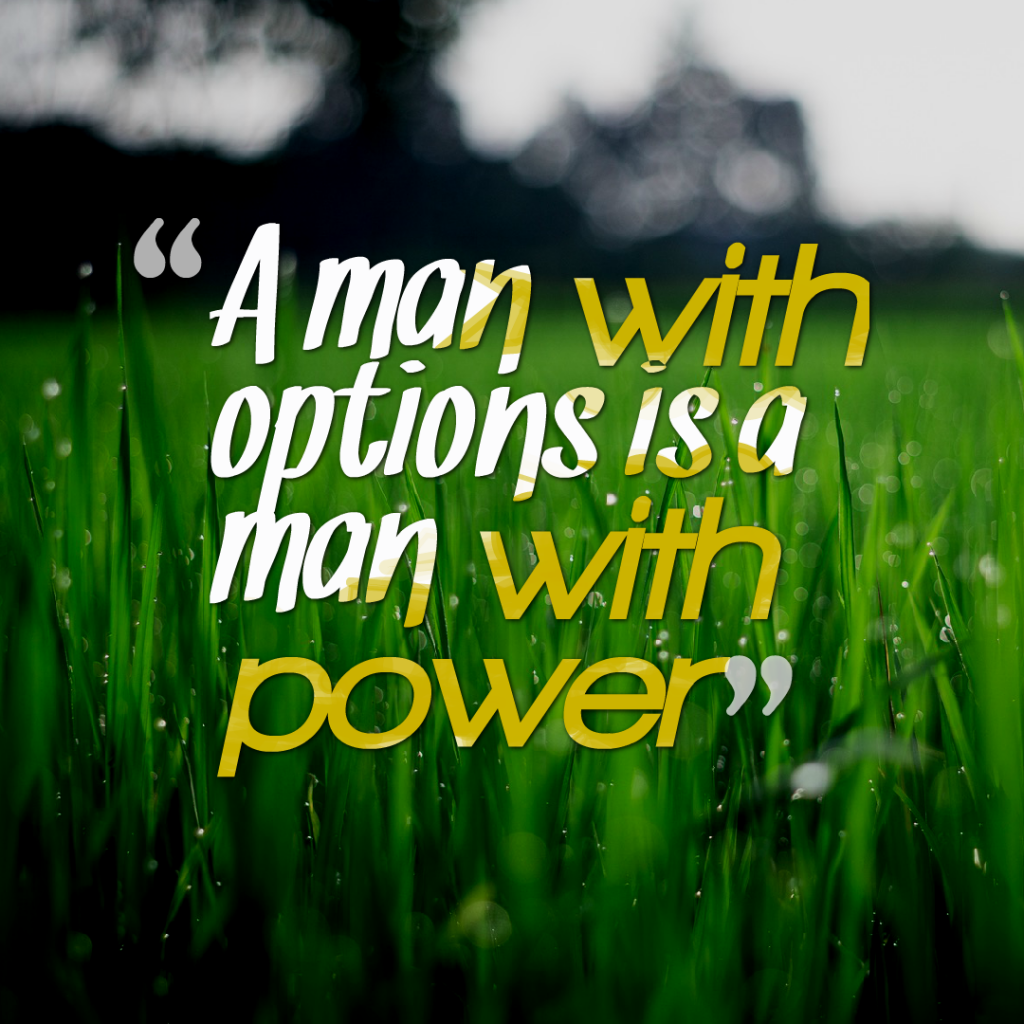 A quotes about power